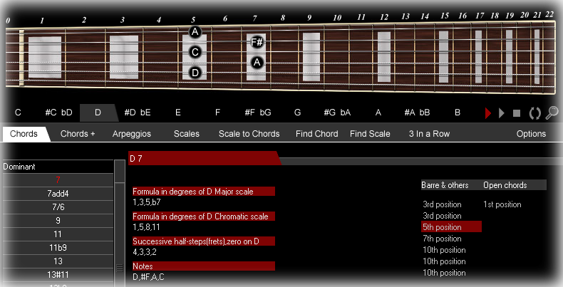 Guitar guitar chords explained : Guitar chords scales arpeggios software