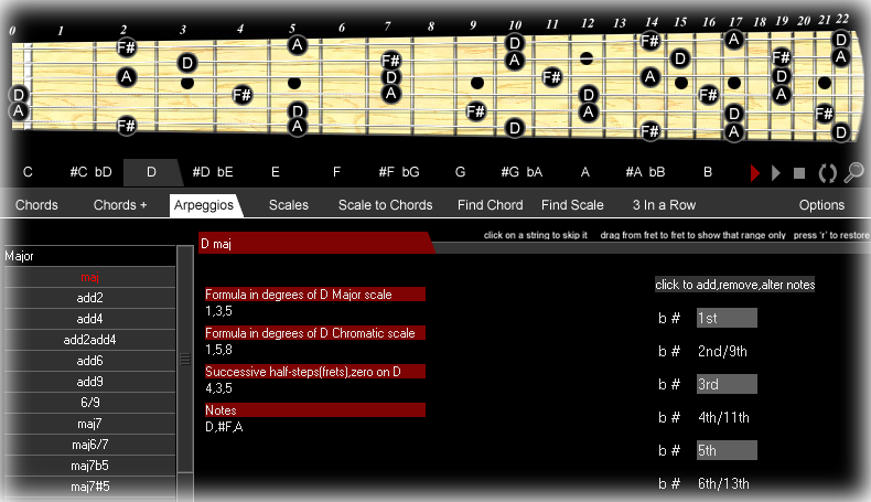 guitar arpeggio software