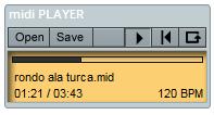 great sounding midi engine makes any midi file sound better